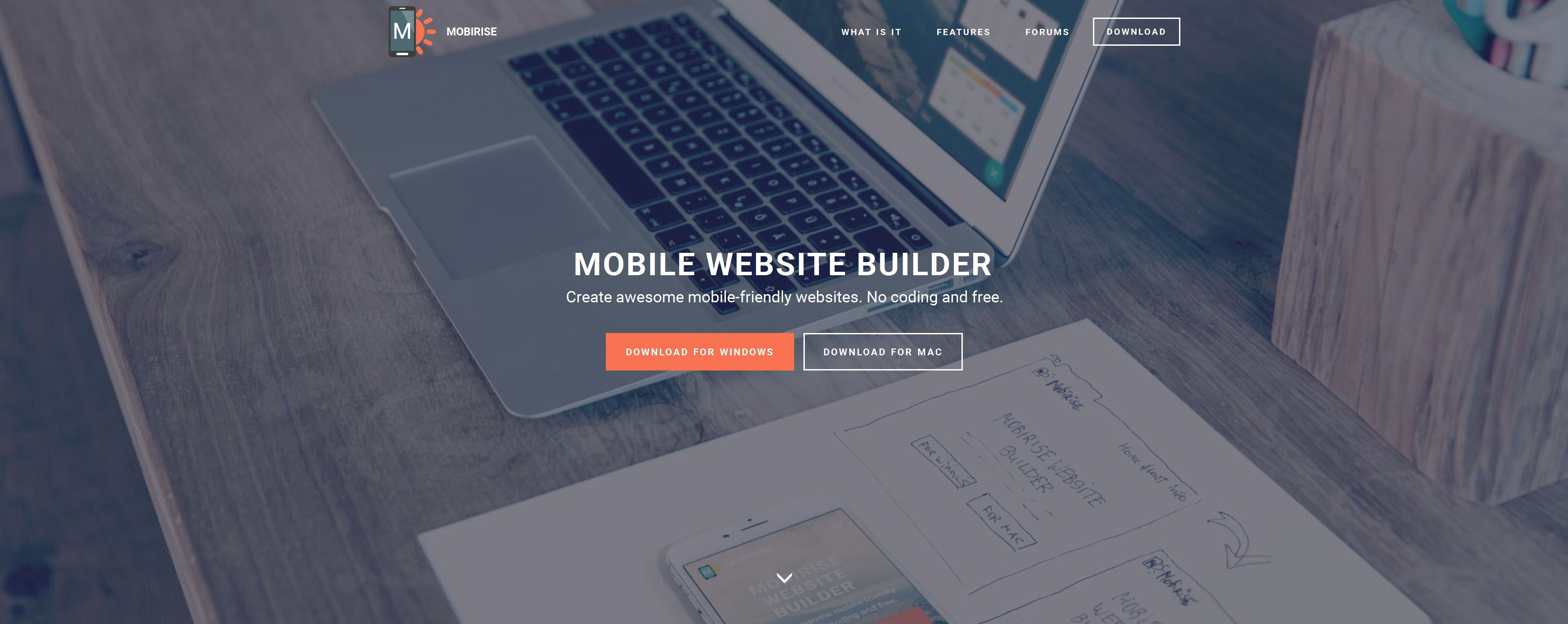 Free Mobile Website Builder