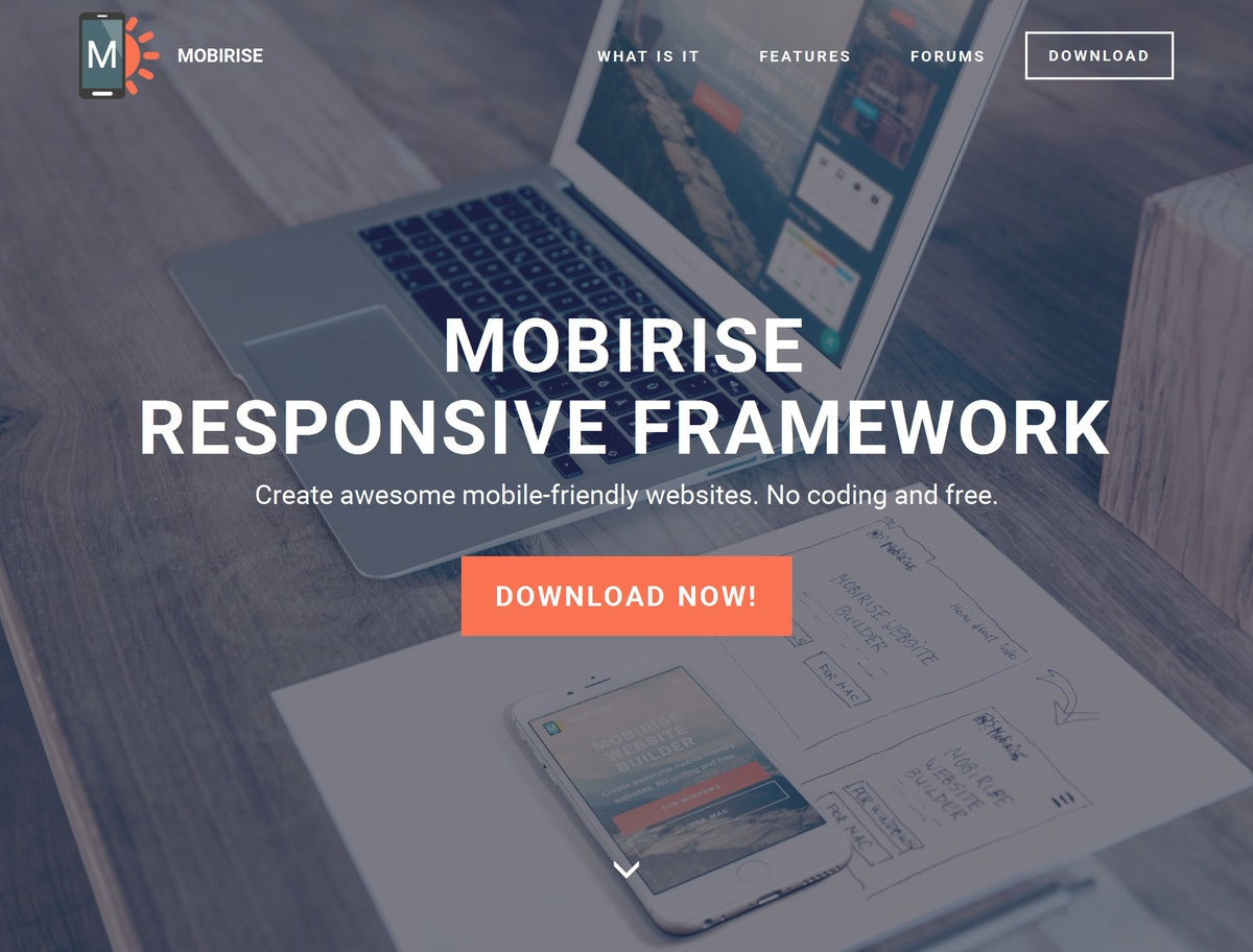 Bootstrap Responsive Site Template