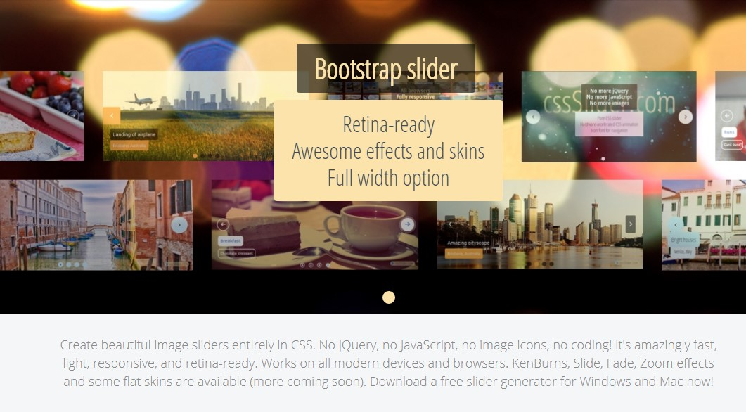 Angular Bootstrap Slider