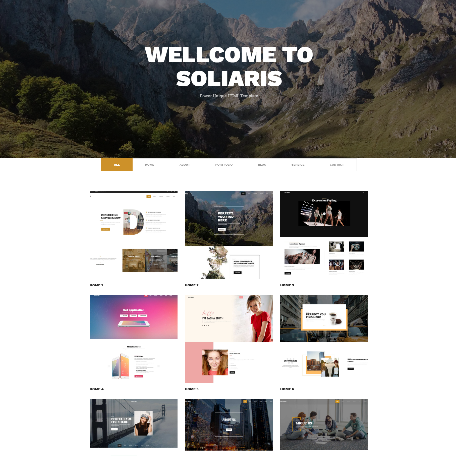 Free Download Bootstrap Soliaris Themes